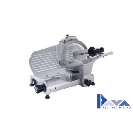PAVA Aufschnittmaschine MIRRA 220 AI CAS mit integr. Messerschleifer, silber