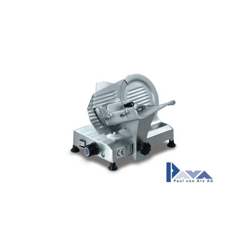PAVA Aufschnittmaschine PAVA Topaz 195 mit Messerschleifer, silber