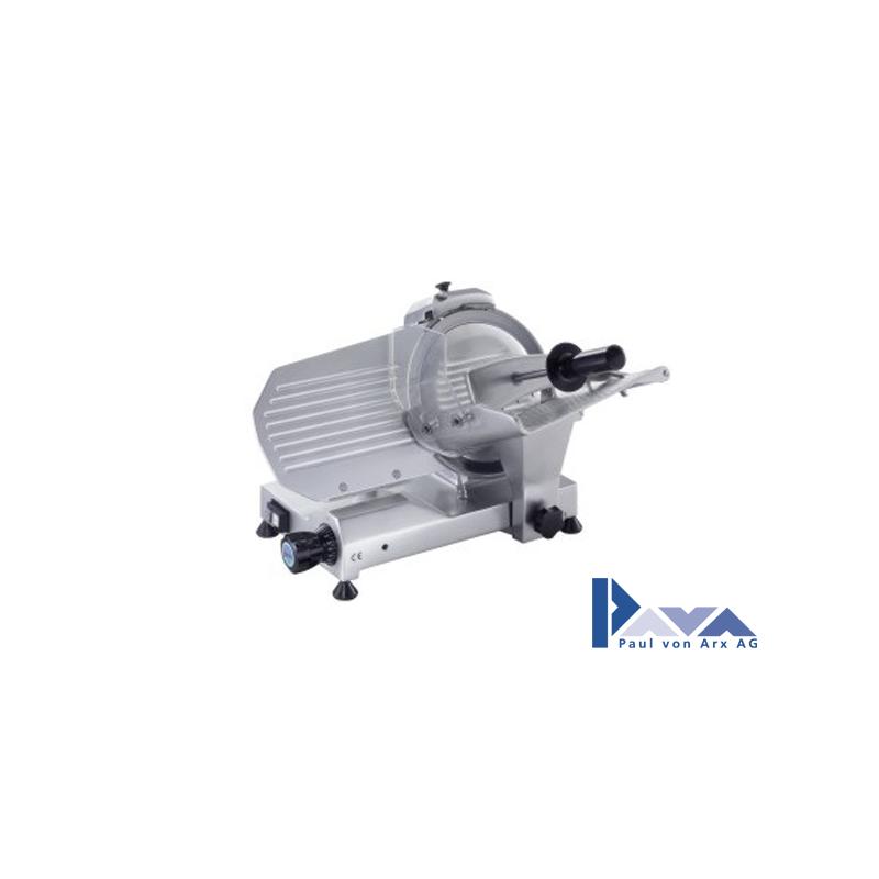 PAVA Aufschnittmaschine MIRRA 220 AI CAS mit integr. Messerschleifer, silber PAVA  - 1