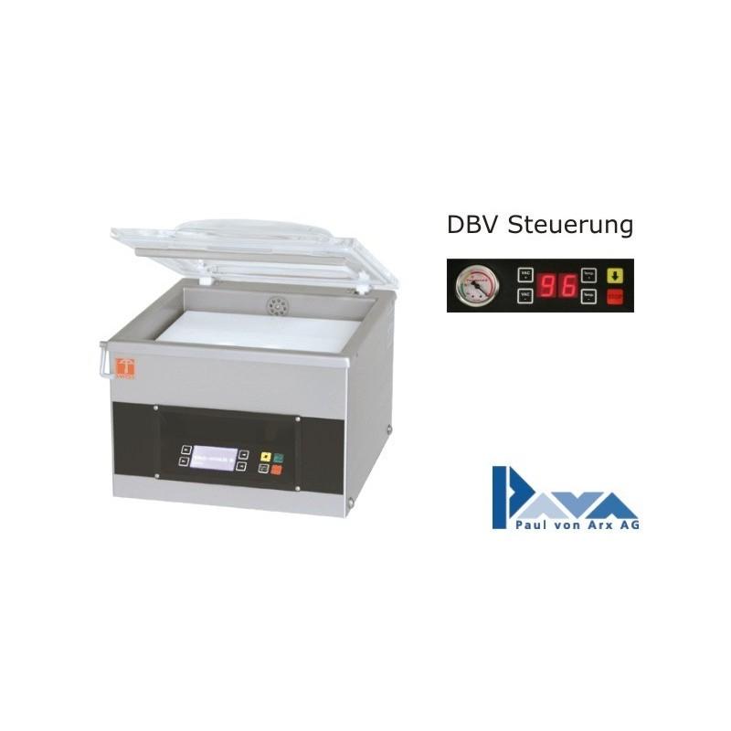 PAVA Vakuum-Verpackungsmaschine Tischmodell S 210 DBV, Basis-Version PAVA  - 1