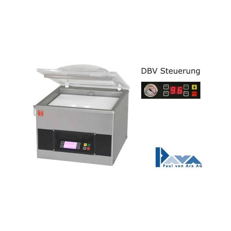 PAVA Vakuum-Verpackungsmaschine Tischmodell S 215 DBV, Basis-Modell PAVA  - 1